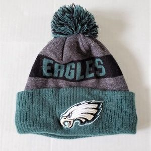 NFL New Era Philadelphia Eagles Knit Cap Hat OSFM
